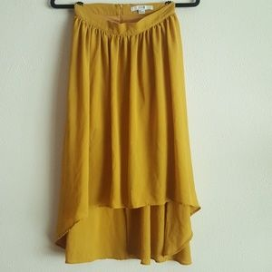 Forever 21 Yellow high-low Dress